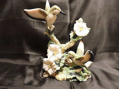 "Vintage Price Products Hummingbird Resin Figurine 8 1/2"" x 5 1/2"""