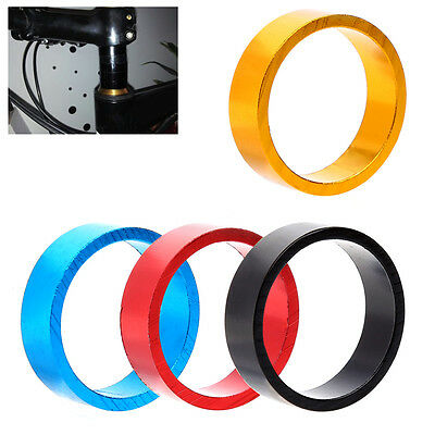 3pcs 10MM Aluminum MTB BMX Bicycle Road Bike Cycling Headset Stem Spacer 4-Color