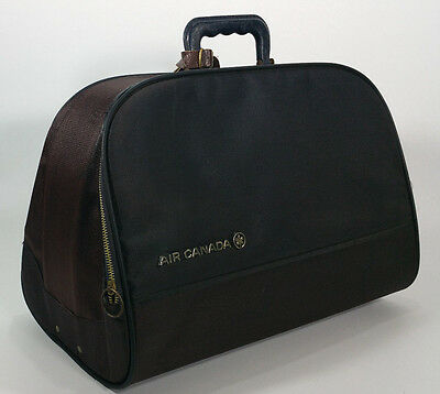 RARE Vintage 1963 Air Canada Airlines Travel Bag Suitcase Blondy Luggage Co