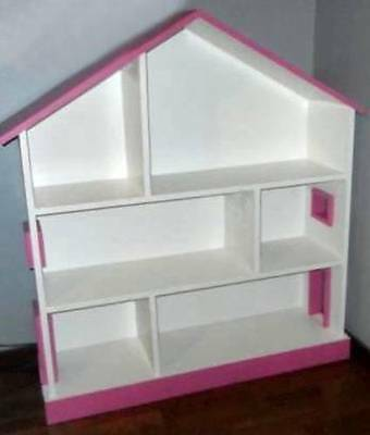 Easy to Build Child's Dollhouse Doll House BOOKCASE - D.I.Y. Woodworking Plan