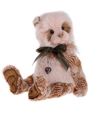 Collectable 2017 Charlie Bear - Sandie - New Release - A Gorgeous Panda