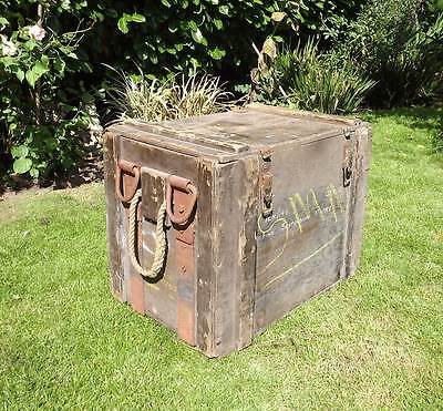 """Vintage Crate / Ammo Box """"A219. MK1″"""