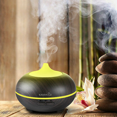 AU Ultrasonic Humidifier LED Aroma Essential Oil Diffuser Timer Purifier 150ML