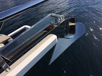 Aritex Plow Anchor - Polished Stainless Steel 60kgs for 70' boat