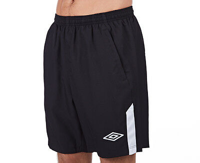 Umbro Men's Training Short - Black/White