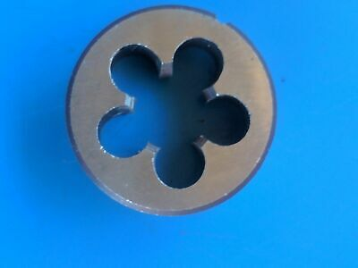 "M16 x 2.0, LH. left handed OD 1 1/2"" /38mm Chrome steel Die Button NEW"