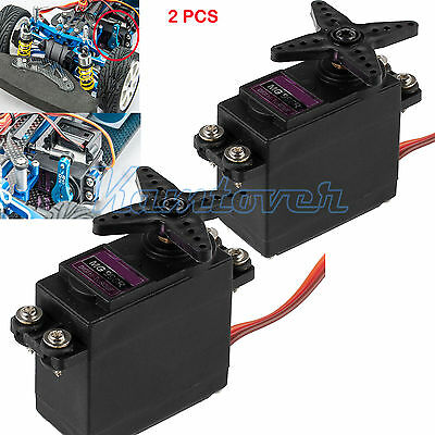 2x MG996R Metal Gear Torque Digital Servo For Futaba JR 2C RC Car Truck AU