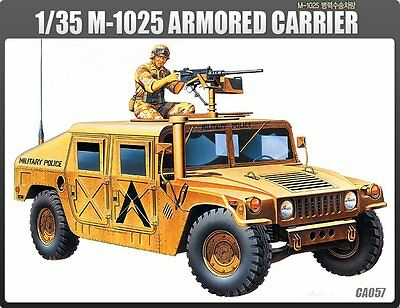 Academy 1/35 Plastic Model Kit M-1025 US Army Armored Carrier #13241