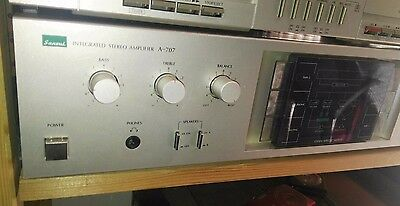 Sansui A 707 Amplifier Vintage 80´s Perfect 100W Rare Top