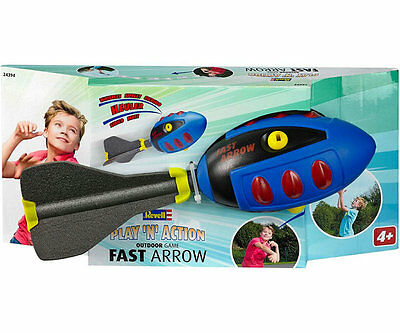 Revell PLAY 'N' ACTION - Outdoor Game Spiel Fast Arrow Wurfrakete 24394 NEU
