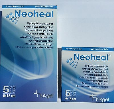 Neoheal Sterile Hydrogel Dressings moist wound healing First Aid Chronical wound