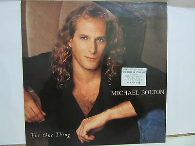 Michael Bolton - The One Thing - Innersleeve - 1993 - Spain - EX+/NM+