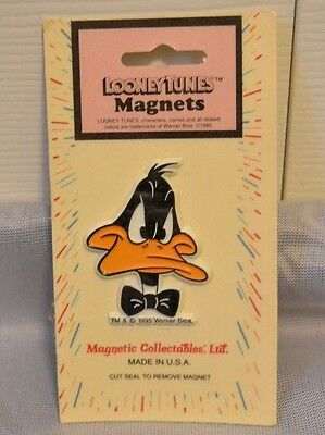 NEW / SEALED / VINTAGE - 1995 Daffy Duck Looney Tunes Refrigerator Magnet 2""