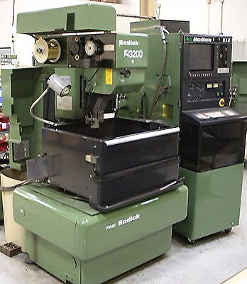 1994 Sodick A320 EDM wire cutter electro-discharge machines