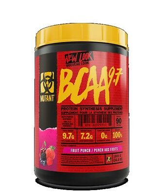 PVL Mutant BCAA Powder 9.7g 30 Servings Branch Chain Amino Acid Intra Workout