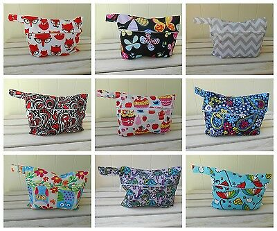 Mini Small Wet Bag for Baby Cloth Wipes / Breast Pads / Sanitary Pads