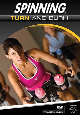 DVD Calorie burn Spinning Turn and Burn Indoor Cycling Multicoloured 62 mins