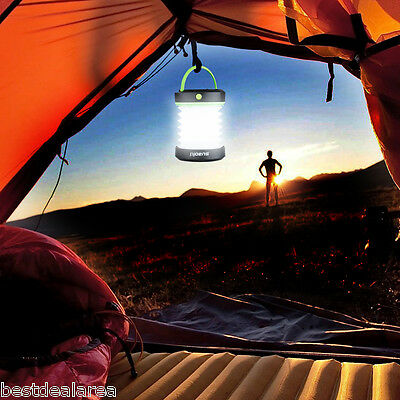Mini LED Camping Tent Lantern Collapsible Torch Light for Hiking Camping Lamp AU