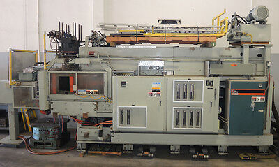 Uniloy 350R2 Blow Molding Machine, Reciprocating Screw - Great Condition!