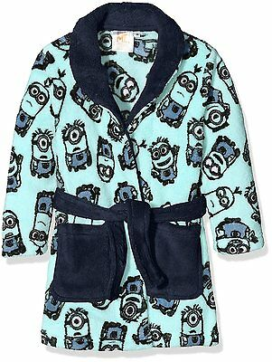 Boys Universal Pictures Boy's Minions  Dressing GOWN Robe Age 2-4 Years