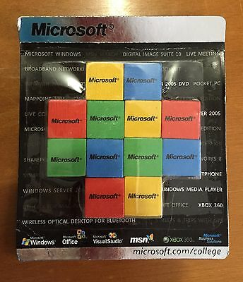 Microsoft Color Blocks Promotional Advertising Toy