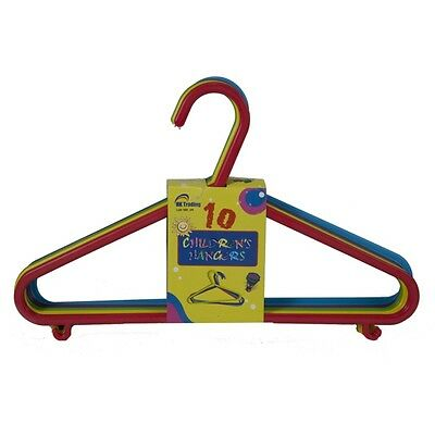 Multi Colour Children Kids Plastic Coat Hangers Child Baby Clothes Hanger