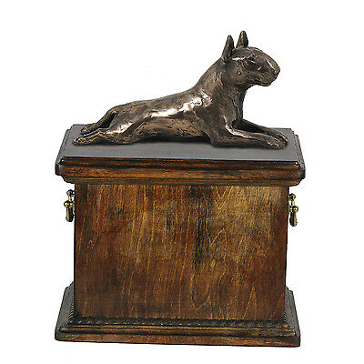 dog urn made of cold cast bronze Black Russian Terrier kind1 CA ArtDog