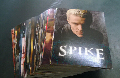 Buffy the vampire slayer Spike the Complete Story basic set trading cards