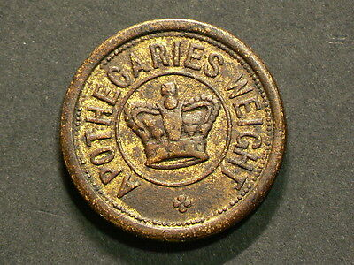 Apothecary Weight Token,  Two Drachms #G5525