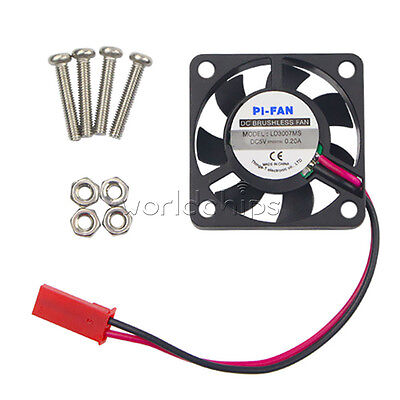 Cooling Cooler Fan for Raspberry Pi Model B+ / Raspberry Pi 2/3 5V 0.2A New