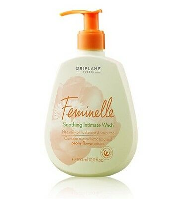 2 × Oriflame Feminelle Soothing Intimate Wash, 300ml×2, New