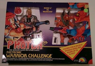 Vintage Photon action figures 1986 The Ultimate Game On Planet Earth