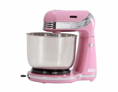 Everyday Stand Mixer Electric Mix Blending Machine w/ 2.5 Qt Mixing Bowl - Pink