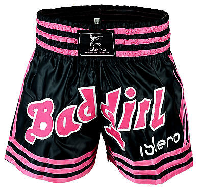 EVO Ladies Muay Thai Shorts Girls MMA Kick Boxing Martial Arts Women Fight Gear