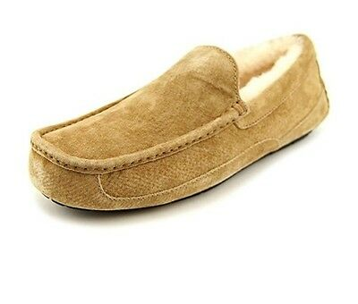 New UGG 5775 CHE Ascot Brown Men's Slip On Slippers Size 10 US