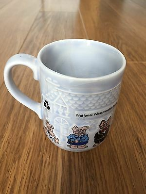 Wade Natwest Pigs mug rare collectable 100 club family
