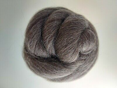 Natural Brown* 100% Merino Wool Roving  Tops for Felting, 50 g