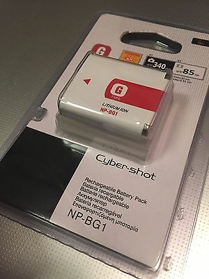 Sony NP-BG1 Type G Lithium Ion Battery for Sony W Series DSLR Camera New