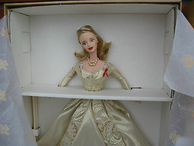 Barbie 1998  50th Anniversary Golden Toys r us Limited Edition