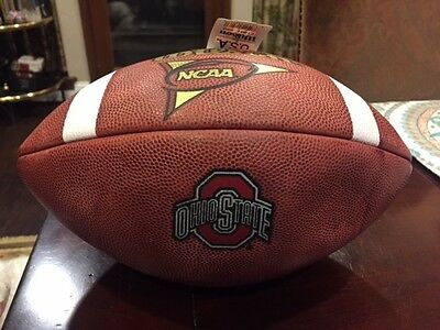 Ohio State Official Wilson Game Football Team Issued Great Collectible