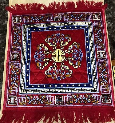 Prayer Mat Small Rug For Ultimate Comfort High Quality Assorted Color Meditation