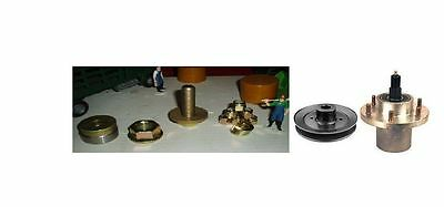 GREAT DANE (A6A)Spindle & Long Hub Pulley & Hardware  D18030,D18084,200262