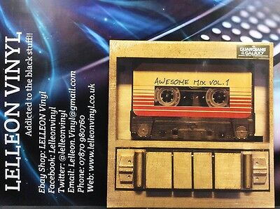 Guardians Of The Galaxy Soundtrack180g LP Vinyl 050087316419 NEW SEALED  2000's