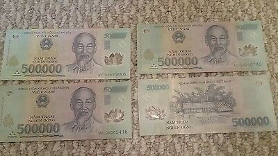 2 Million Vietnam Dong = 500,000 X 4 (PCS) = Currency Lowest Price