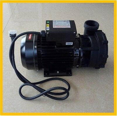 "NEW 2HP 2 SPEED SPA PUMP HOT TUB  BATH PUMP WP200-II AMP PLUG  2"" fit BALBOA"