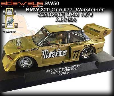 Sideways SW50 BMW 320 Zandvoort DRM 1979 - use on Scalextric slot car track