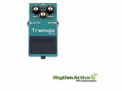 Boss Tr-2 Tremolo Guitar Effect/s Fx Processor Foot Pedal By Roland Tr2