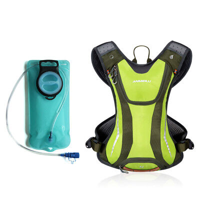 ANMEILU 5L Hydration Pack Hiking Running Cycling Backpack Vest Water Bladder Bag