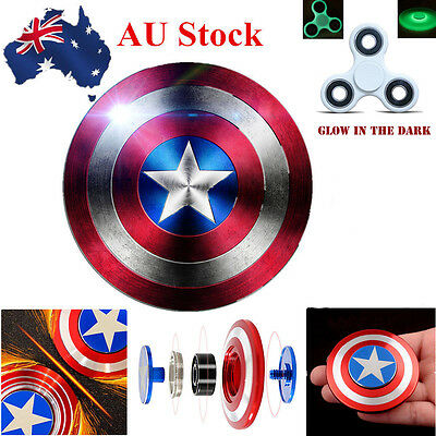 Hand Spinner Fidget Spinner Stress Reliever Toy ADHD kids Gift Captain America