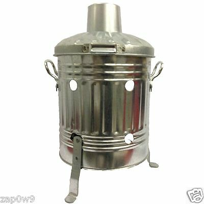 Mini Galvanised 15Ltr Incinerator/Burner Paper/Leaves/Rubbish